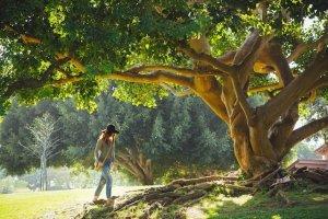 photo-wise-woman-tree
