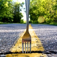 Daily Kiss:: Forks in the road?