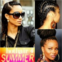 Hot Hairstyles for the Pool or Beach