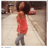 Brandy ditches the weave and shows off her Natural Hair