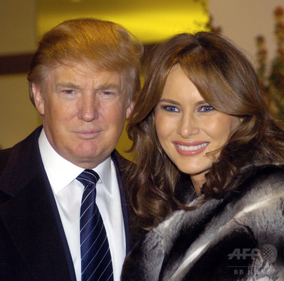 trump-with-wife-merania