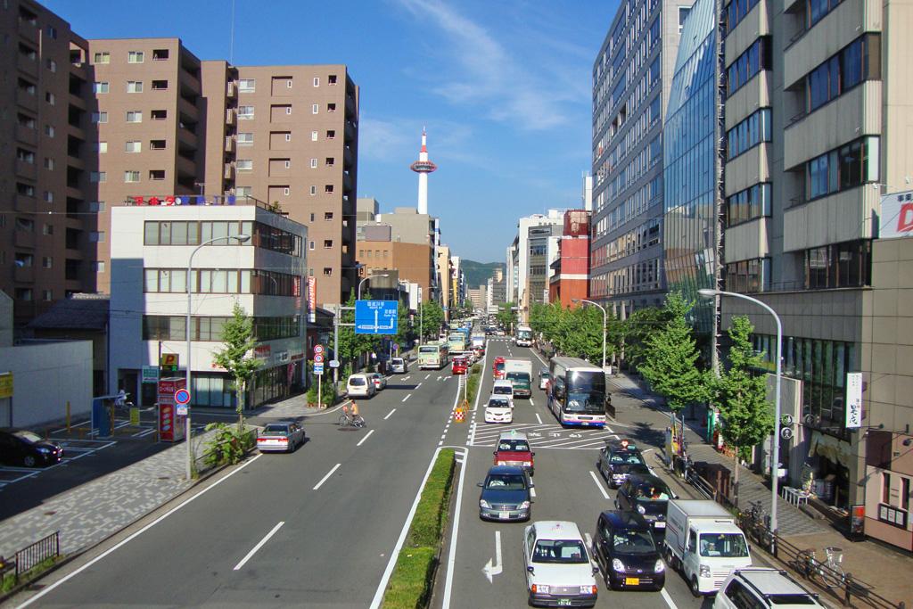 京都の渋滞