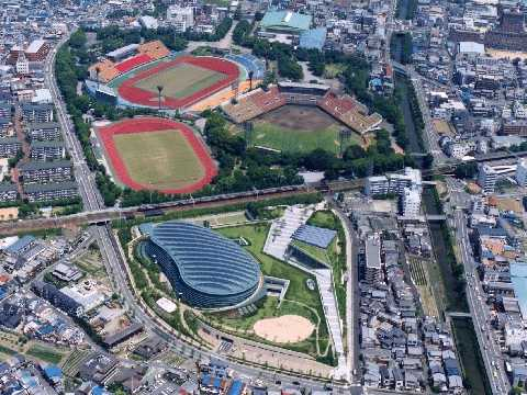 京都の西京極総合運動公園