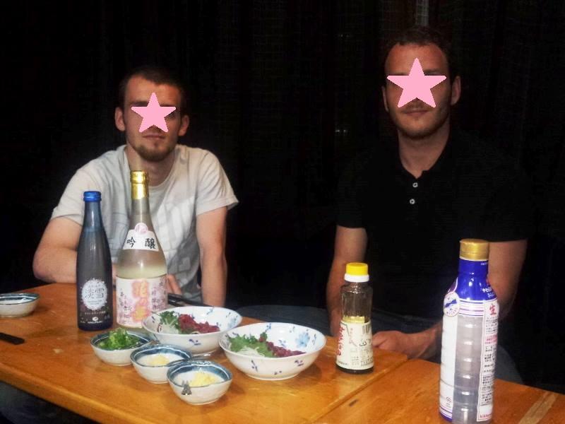 馬刺し 鹿さし horse sashimi deer sashimi