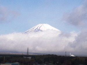 屋上から見える富士山 富士山が見える宿