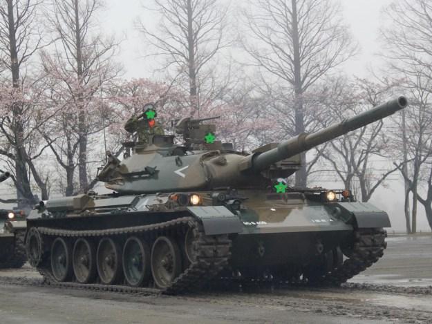 74式戦車改・駒門・2016・観閲式
