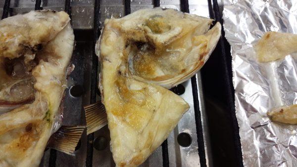 鯛かぶと焼き 焼き方 鯛づくし 片面焼け