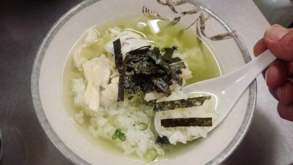 鯛茶漬け 鯛づくし 刻み海苔 薬味