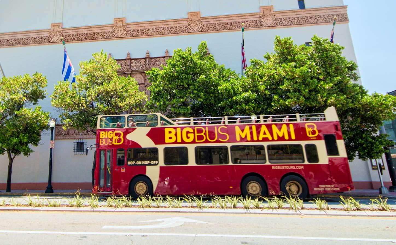 hop-on, hop-off bus miami - enjoy miami beach