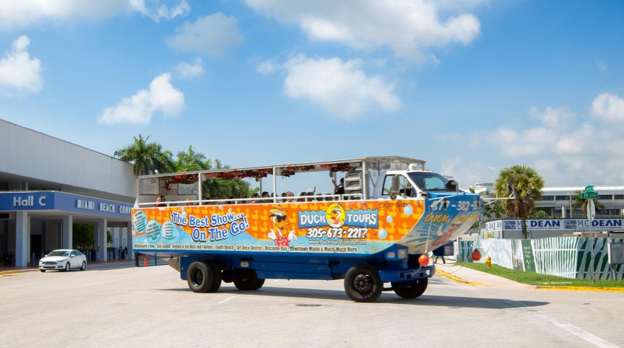 duck tours miami beach