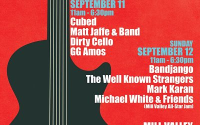 Arts Commission's Concerts in the Plaza Returns Sept. 11-12 With Local Stalwarts and Some Special Guests