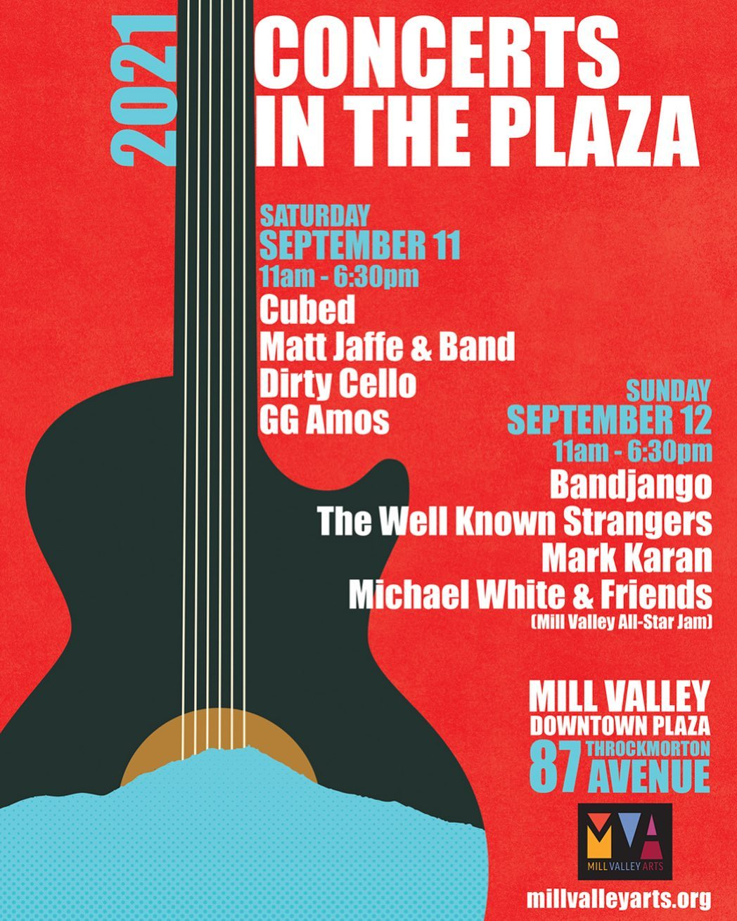 2021 Concerts in the Plaza