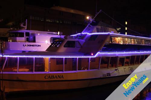 Cabana Yacht New Years Eve Cruise NYE Cruise Tickets In