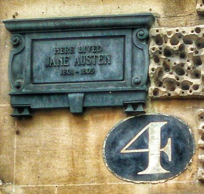 Jane Austen House Bath