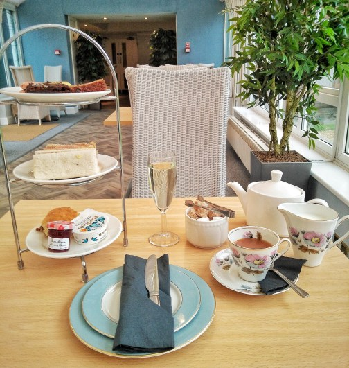 Farnham Hog's Back Hotel Spa Afternoon Tea