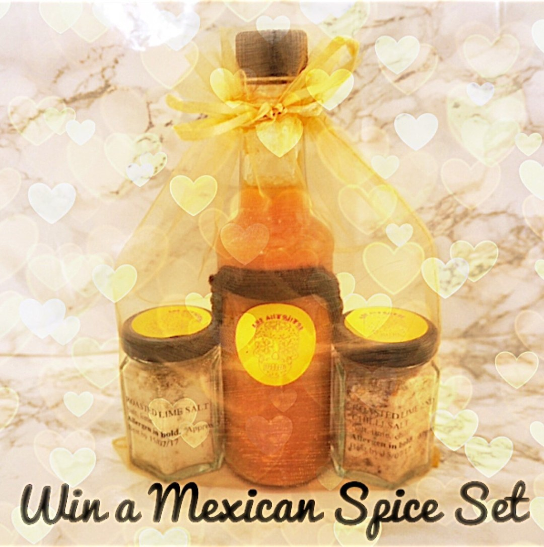 Win Mexican spice set