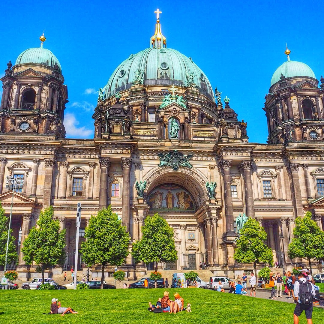 Berliner Dom - Enjoy the Adventure travel blog