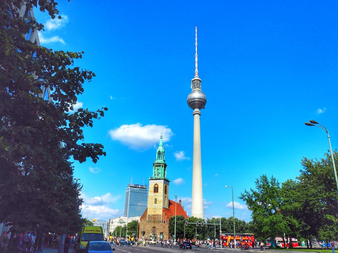 TV Tower Berlin - Enjoy the Adventure travel blog