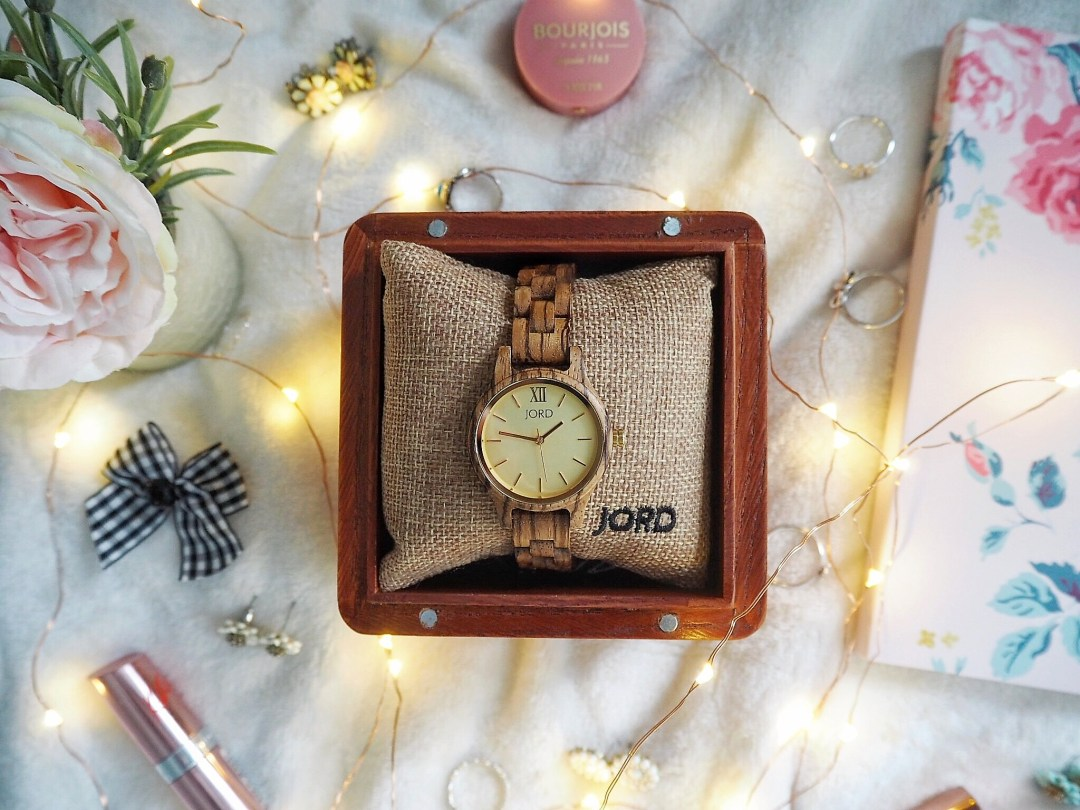 Where To Shop For Unique Timepieces This Valentine's Day & Giveaway - JORD women's and men's wooden watches
