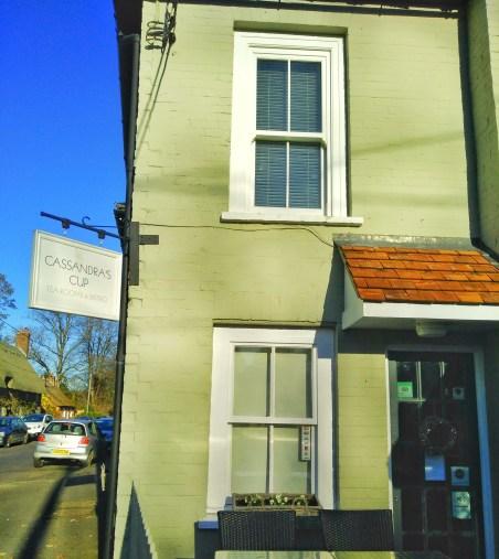 Jane Austen House Museum Chawton, Hampshire Cassandras Cup Tea Room