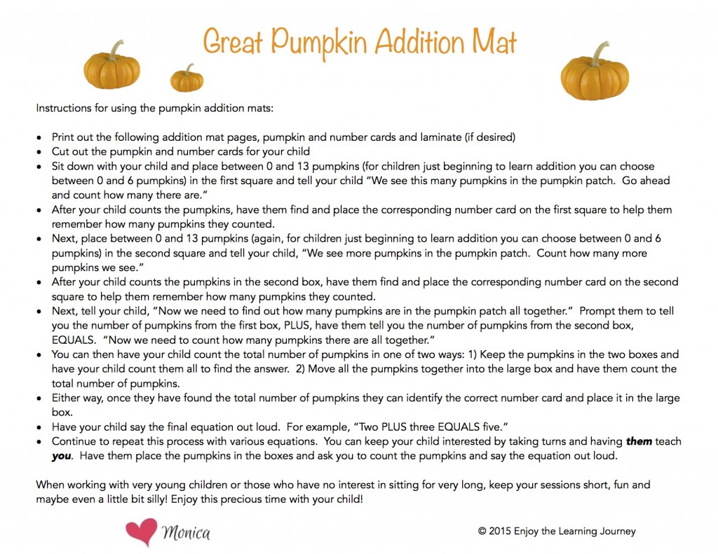 It S The Great Pumpkin Charlie Brown Addition Activity