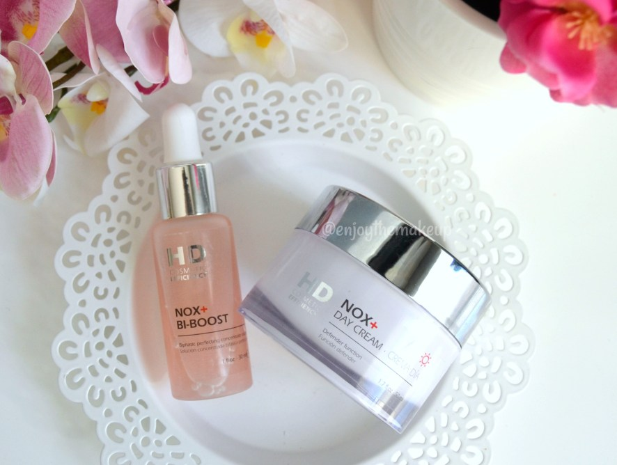 NOX+ Crema de día & NOX+ Bi-boost de HD Cosmetic Efficiency