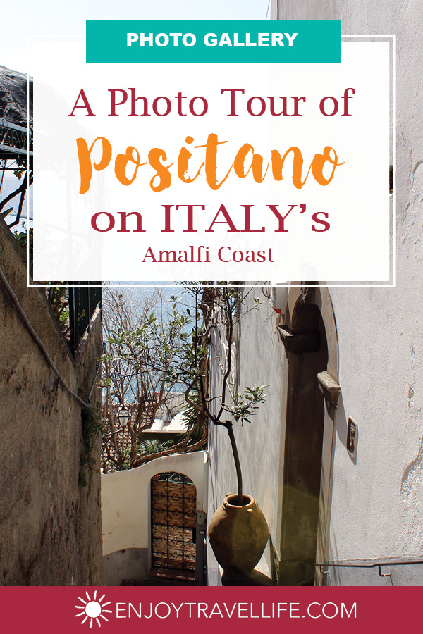 Love Affair with Positano Cover
