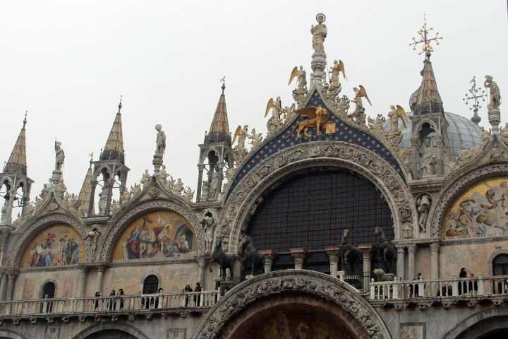 Saint Mark's Cathedral in Venice Italy