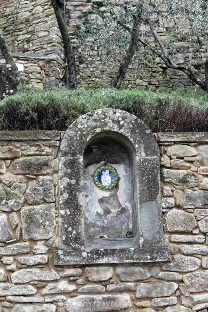 Shrine | Bramasole | Cortona | Italy
