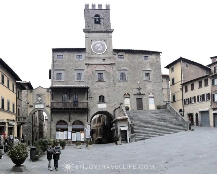Clocktower | Piazza della Repubblica | Cortona | Italy