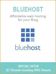 Best Blogging Tools - Bluehost