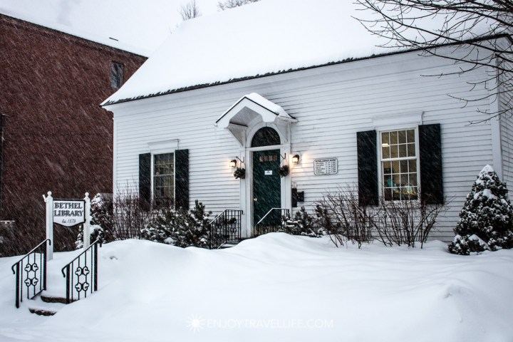 Winter in Bethel Maine | Bethel Library