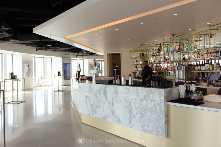 best views of downtown Los Angeles - OUE Skyspace Los Angeles Skybar