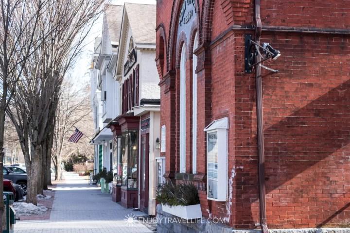 Main Street in Stockbridge Massachusetts