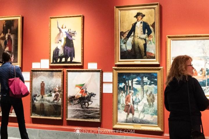 Exhibition at Norman Rockwell Museum in Stockbridge