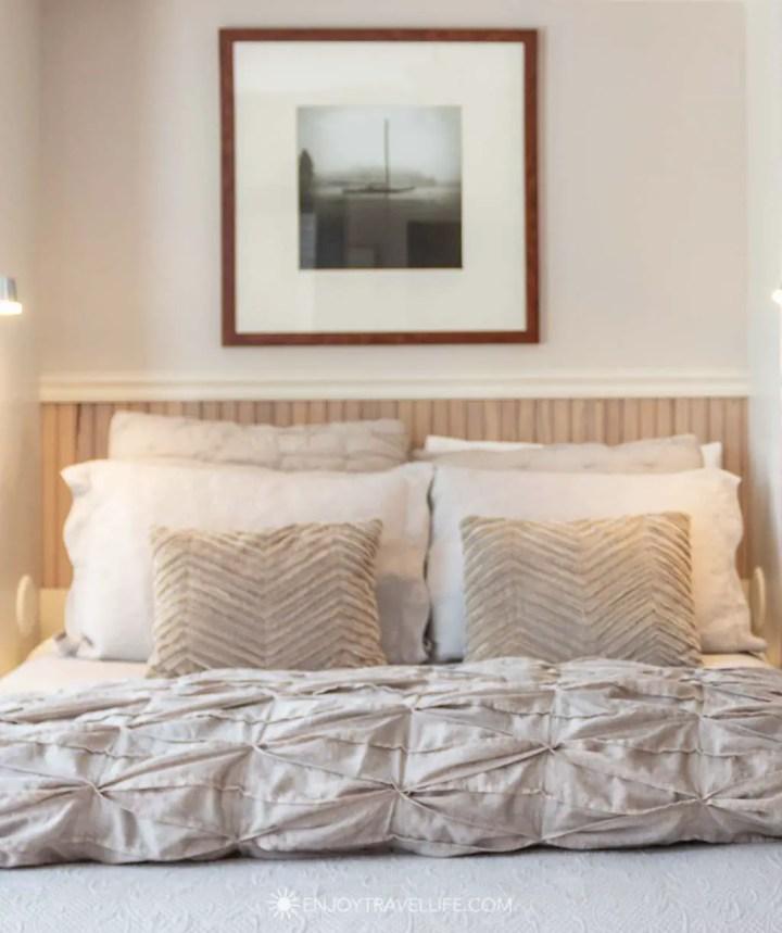Peaceful bedroom scene