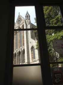The Baking Bird Truro Cathedral View