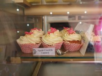 Apple Crumble Cupcake at The Baking Bird