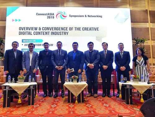 ConnectASIA 2019 hosted by FINAS / KKMM & Creative Content Association of Malaysia (CCAM)