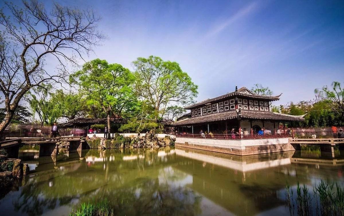 可赏可游可居的苏州古典园林