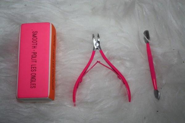 Accessoires manucure