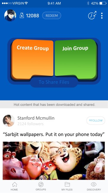 GroupShare Home Page