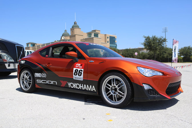 Scion FRS Yokohama Ride and Drive on Enkei Wheels
