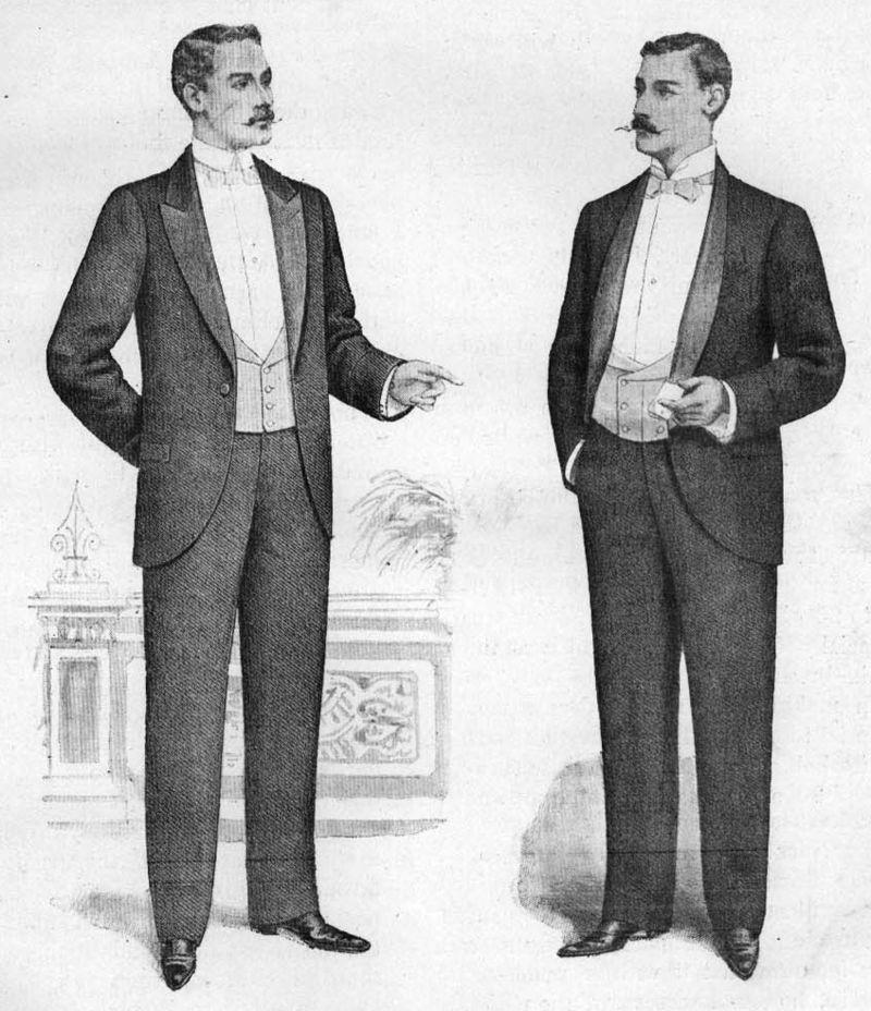 9e1c1818 Engelske dinner jackets anno 1898