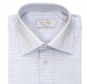 Smårutet skjorte fra Viero. Foto: Menswear