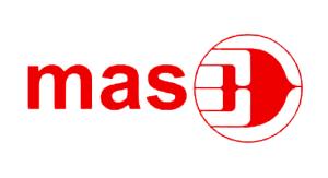 "MAS-logo 1971-1987. MAS står for Malaysia Airlines System, men betyr også ""gull"" på malay"