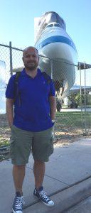 Forfatteren i cargo-shorts - på fritiden!