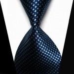 Blått slips med mikroruter fra Spiffster