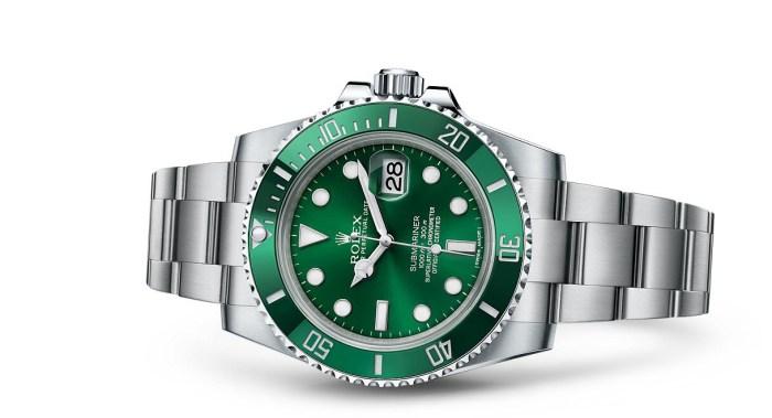 Rolex Submariner Date i stål til den nette sum av 80.00 kroner