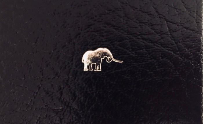 Elefantmansjettknapper fra Patrick Mavros